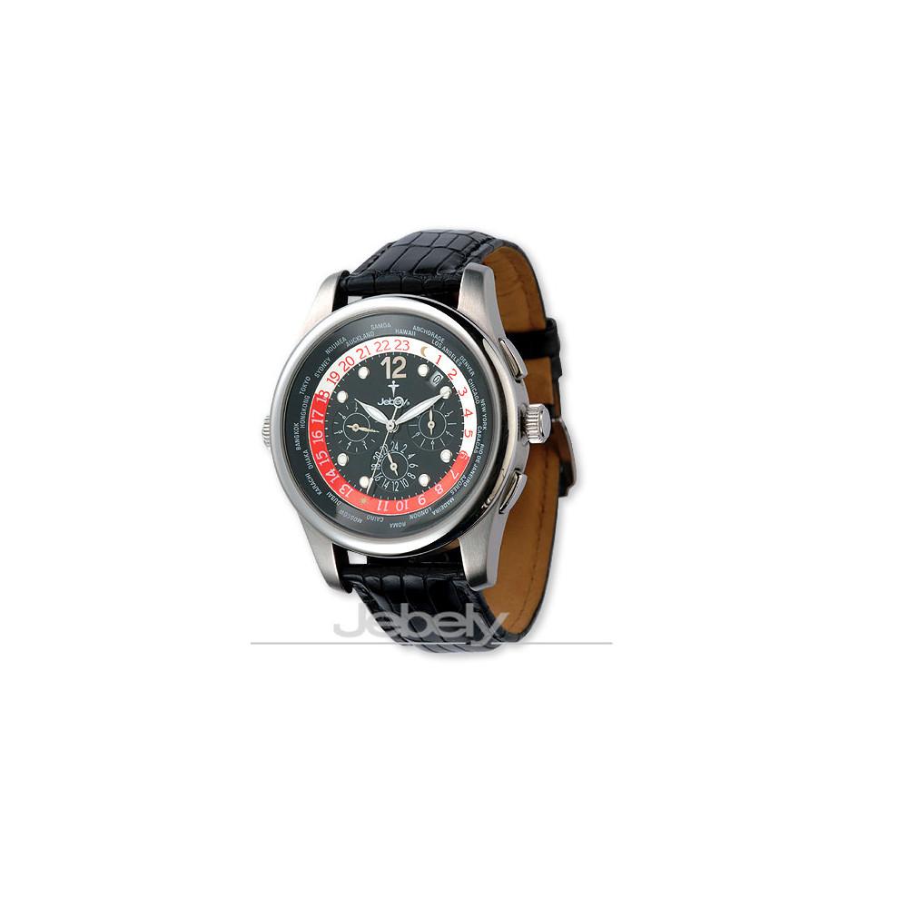 【Jebely 】瑞士流森新古城系列機械錶(貴族黑)