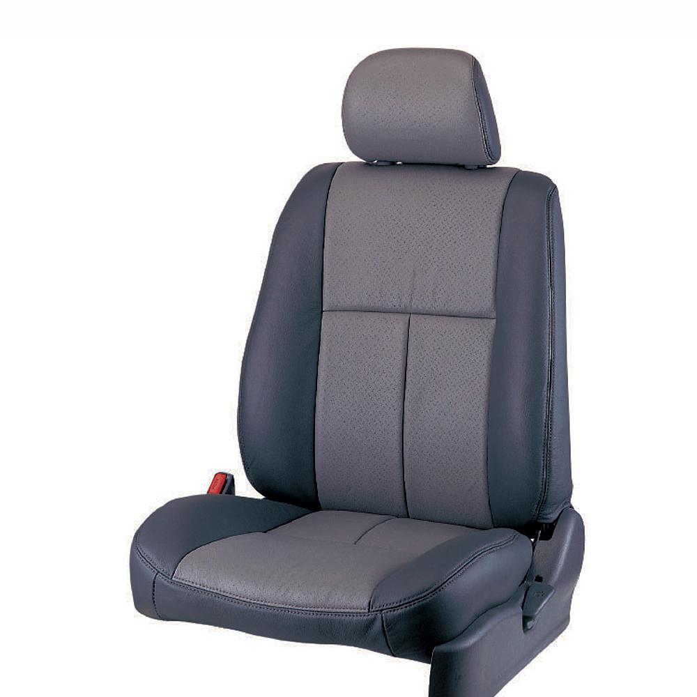 【葵花】量身訂做-汽車椅套-合成皮-開運T式-轎車款/休旅車5~8人座-雙前座-第一排2人座