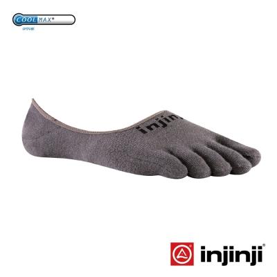 【Injinji】Sport 多功能吸排五趾船形襪-石墨色