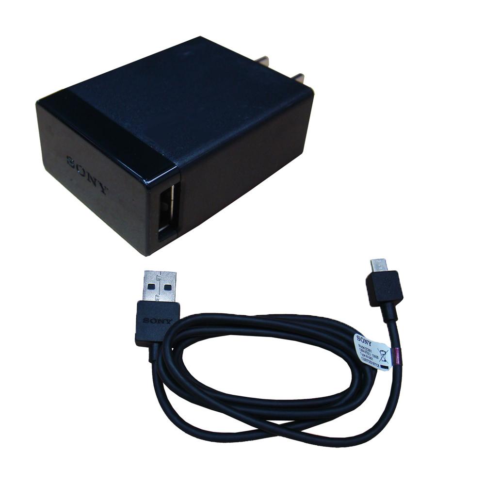 SONY Xperia  原廠充電組合(EC801傳輸線+EP800)