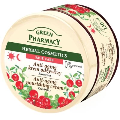 Green Pharmacy 草本肌曜 蔓越莓水嫩滋養緊實精華面霜 150ml