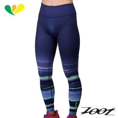 ZOOT 玩美超彈力緊身長褲(星空藍)(女) Z1604070