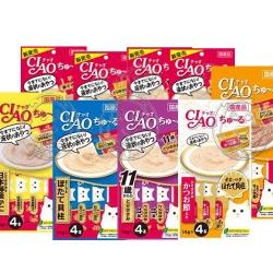 日本CIAO《啾嚕肉泥》14g x4袋