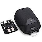 PUSH!箱包用品防盜海關鎖的防水雙肩背包電腦包商務包3C包旅遊包學生書包U50