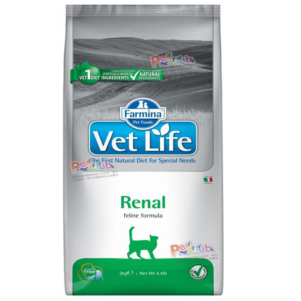 Farmina法米納 獸醫寵愛天然處方系列-貓用腎臟配方 2kg