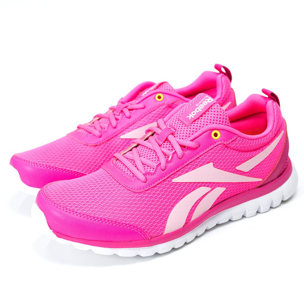 Reebok-SUBLITE SPORT女慢跑鞋-粉紅