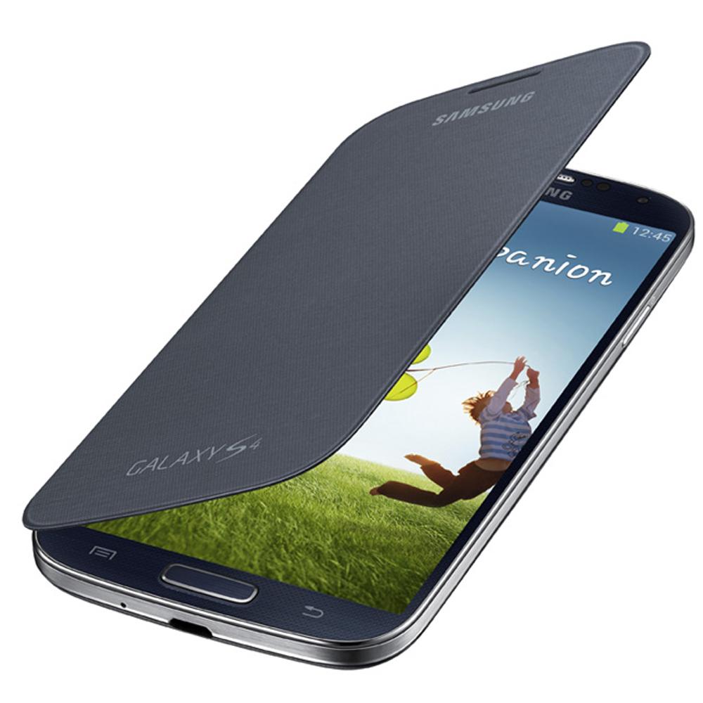 Samsung GALAXY S4 I9500原廠側翻式皮套