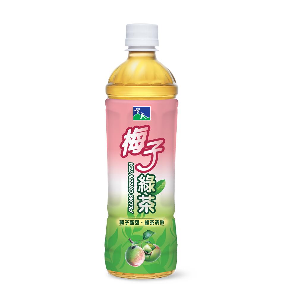 悅氏梅子綠茶550ml(4入/組)