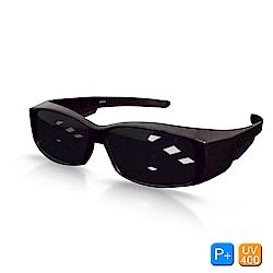 Lafan偏光太陽眼鏡 奢華棕經典偏光太陽眼鏡(抗UV400/套鏡)