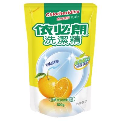 依必朗柑橘洗潔精-補充包800g