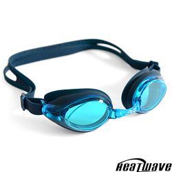 熱浪 KUAIKE防霧泳鏡 100%純矽膠抗UV眼罩-H937