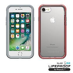LIFEPROOF iPhone8/7專用 吸震抗衝擊防摔手機殼-SLAM(灰橙)