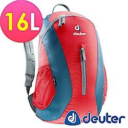 【ATUNAS 歐都納】德國DEUTER 運動休閒旅遊後背包16L / 80154 紅深藍