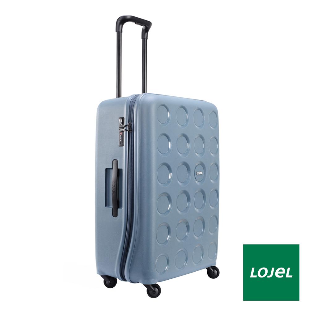 日本LOJE  28吋 鋼藍色 PP VITA 拉鍊行李箱