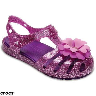 Crocs 卡駱馳(童) 伊莎貝拉繽紛涼鞋-204529-59L