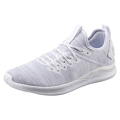 PUMA-IGNITEFlashevoKNIT男慢跑鞋-白色