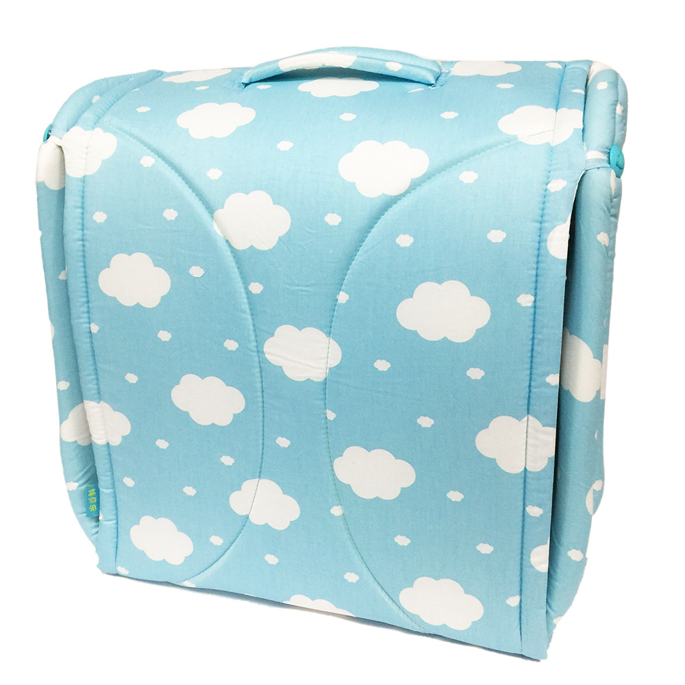 BabyCot 雲朵藍可攜式床中床/攜帶式嬰兒床