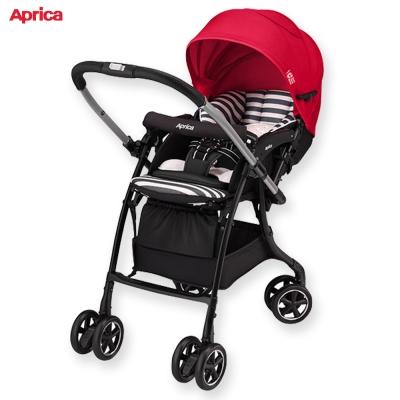 Aprica 手推車 Luxua Dual 直覺系列 紅皇后