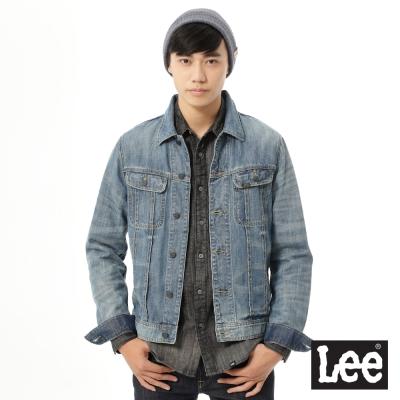 Lee 牛仔外套Vintage Laundry系列-男款-藍