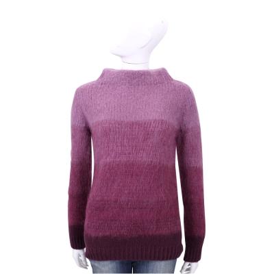Max Mara-WEEKEND 紫色漸層羊毛長袖上衣