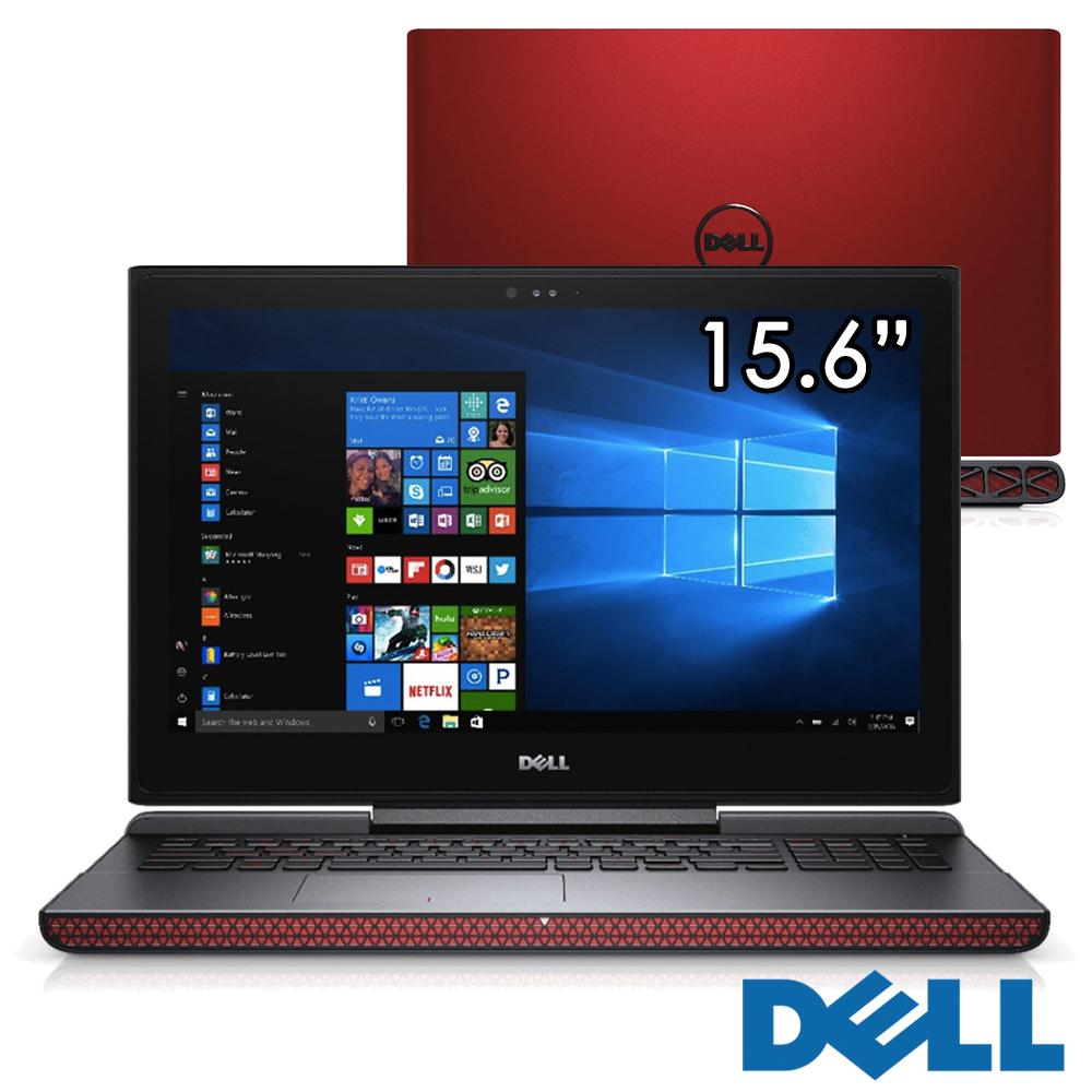 Dell Inspiron 15吋電競筆電(i5-7300HQ/1050Ti/128 500/紅