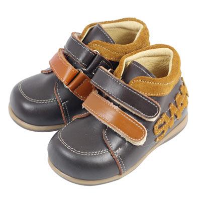Swan天鵝童鞋-swan英文字母矯正鞋 9313-咖