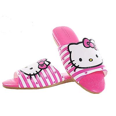 Hello kitty室內拖鞋 桃  魔法Baby