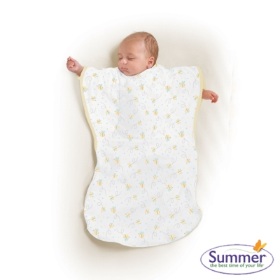 美國 Summer Infant 小蝴蝶背心睡袋 - 蜜蜂樂園