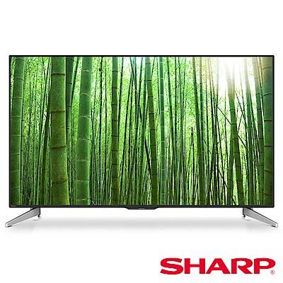 SHARP 夏普 60型 4K日本原裝連網液晶電視 LC-60U33JT