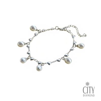 City Diamond『珍愛』珍珠手鍊