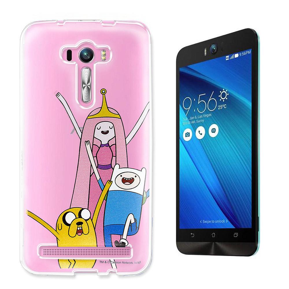 卡通頻道授權 ASUS ZenFone Selfie 探險活寶軟手機殼(公主活寶)