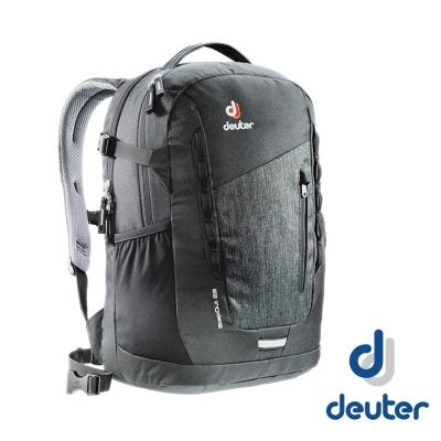 【德國 Deuter】StepOut 22L 防潑水城市型旅遊背包_牛仔/黑