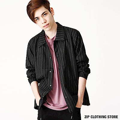 教練夾克外套(4色) ZIP日本男裝