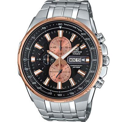 EDIFICE 賽車運動計時腕錶(EFR-549D-1B9)-黑/50.3mm