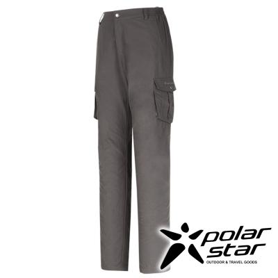 PolarStar 女 抗UV排汗快乾長褲 工作褲(多口袋)『鐵灰』P16346