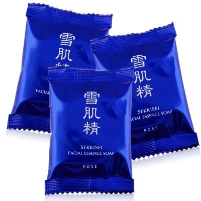 KOSE高絲 雪肌精晶透潤白潔顏皂 10 GX 3