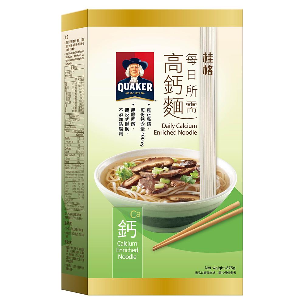 桂格 每日所需高鈣麵(75gx5入)