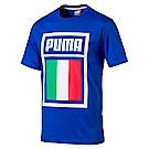 PUMA-足球系列國旗短袖T恤-義大利(M)