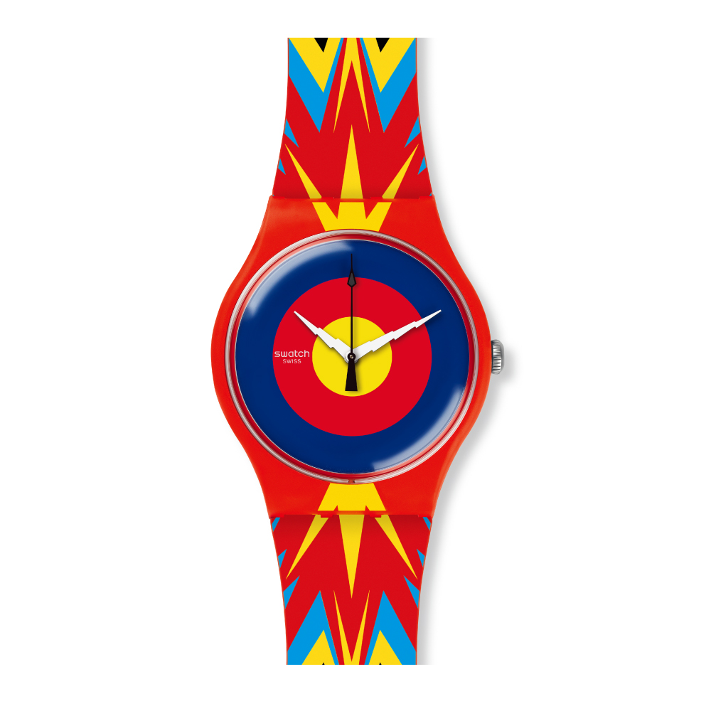 Swatch 藝術家聯名錶 JOVA TIME JOVA 時間手錶
