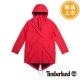 Timberland 女款紅色魚尾連帽防水大