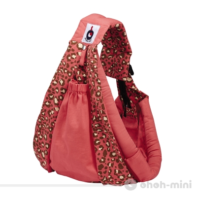 ohoh-mini孕婦裝 寶寶輕鬆揹/背袋(粉紅豹)