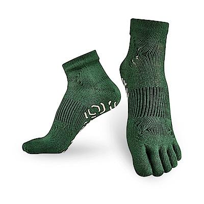【Titan】太肯五趾功能訓練襪_綠_2雙(適合慢跑、健身房項目)