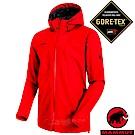 【瑞士 MAMMUT 長毛象】男新款 Gore-Tex 防水透氣風雨衣_岩漿紅