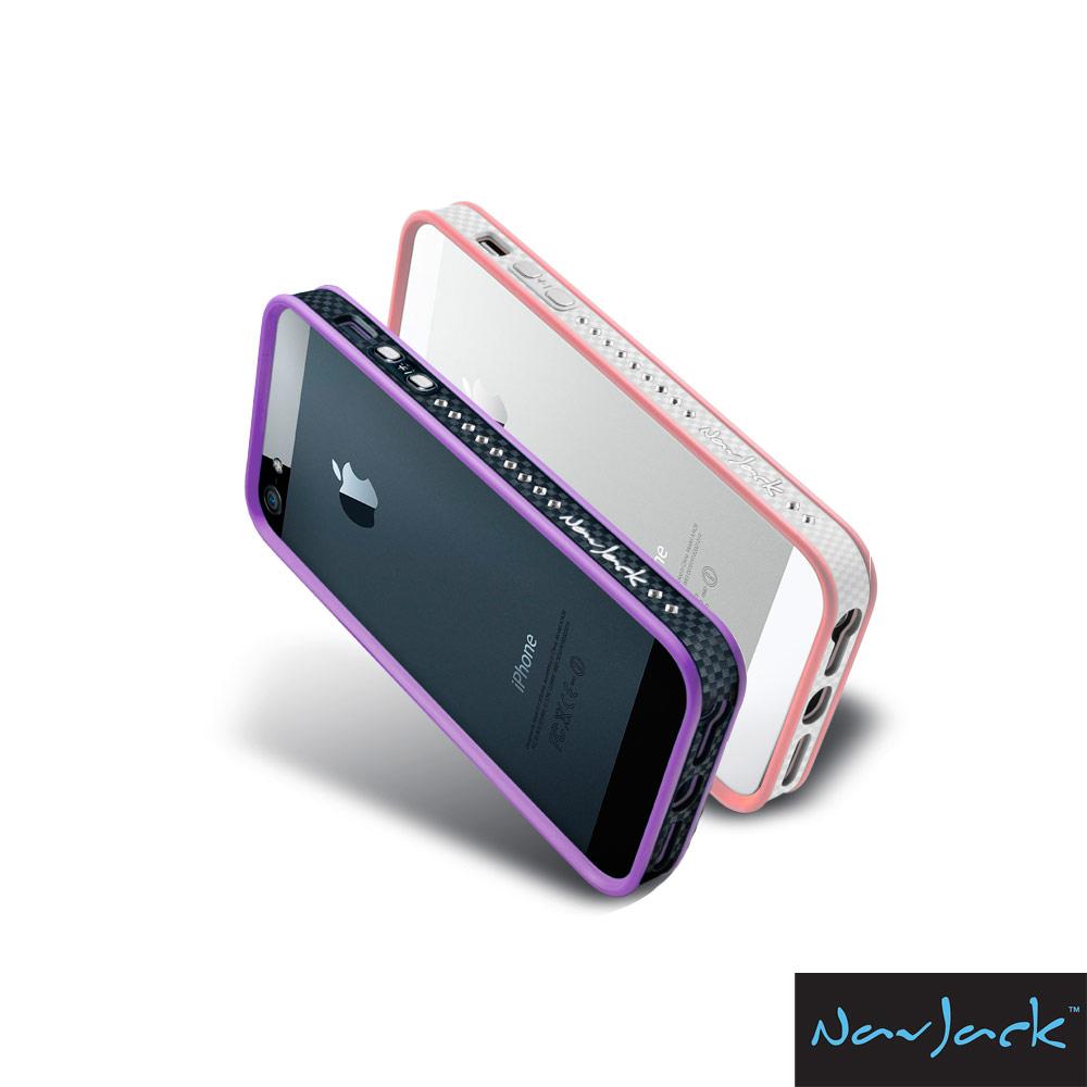 NavJack Trim 系列 IPHONE 5/5S/SE 專用奢華水鑽版保護框