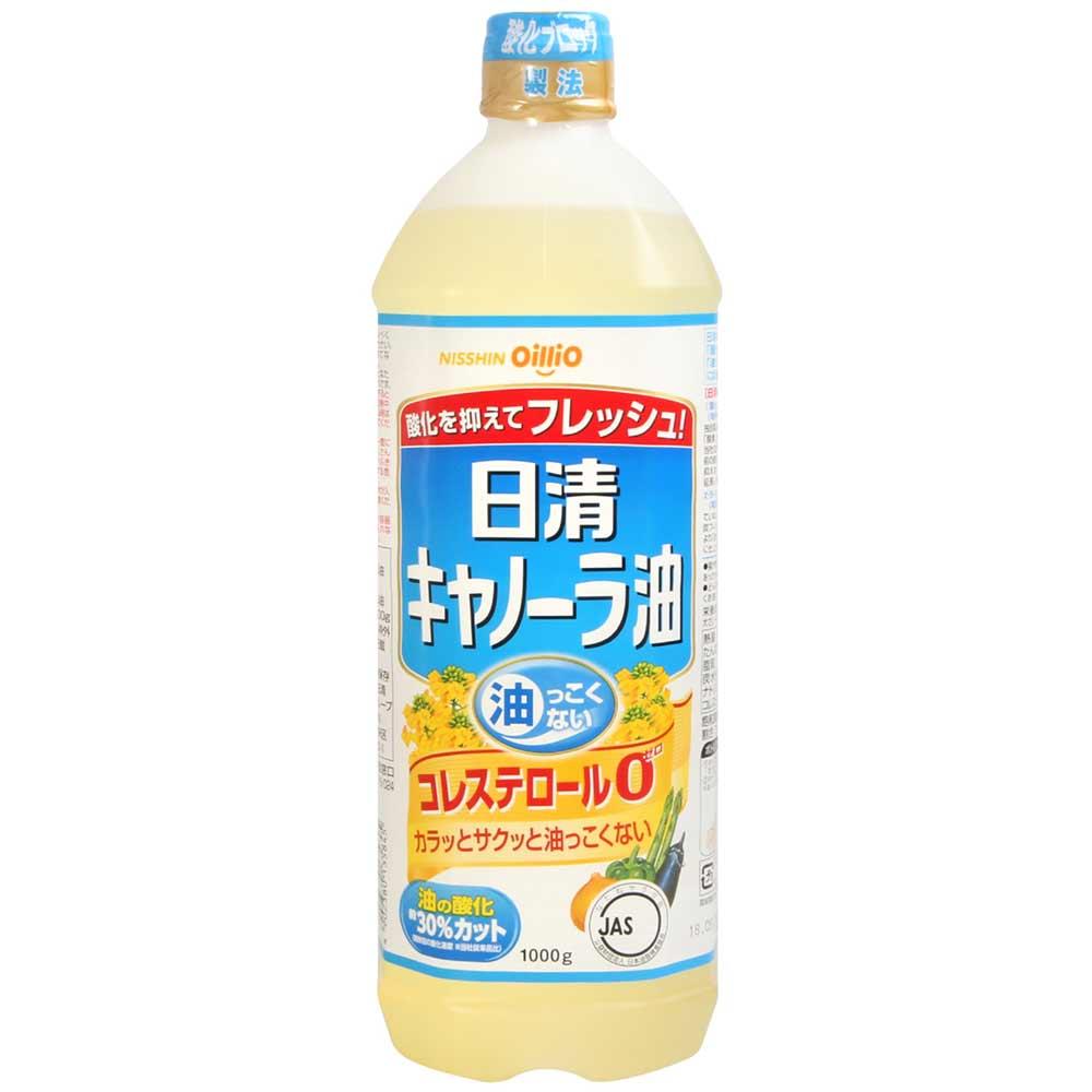 日清 零膽固醇芥籽油(1000g)