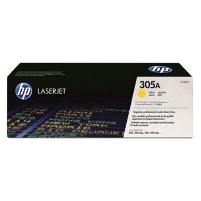 HP CE412A 305A 原廠黃碳粉匣