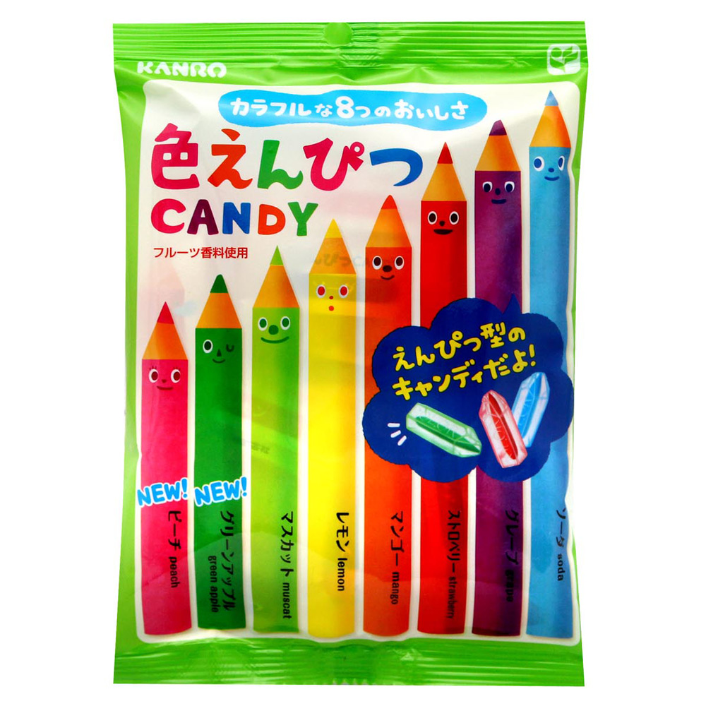 Kanro 彩色鉛筆糖(100g)