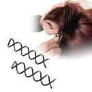神奇造型隱形螺旋髮夾10入