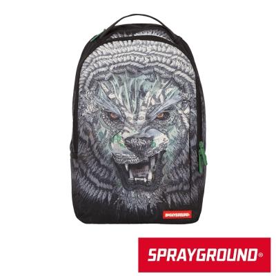 SPRAYGROUND DLX 系列 Lion Money 金錢獅潮流筆電後背包