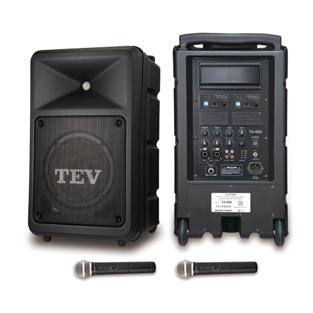 TEV 160W雙頻無線擴音機 TA680iA-2